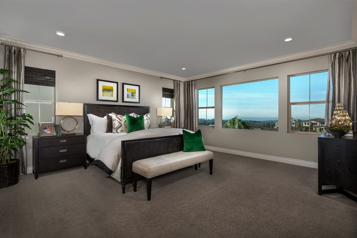 New Homes in Lake Forest, CA - Highmark at Ironridge Residence Three Master Bedroom