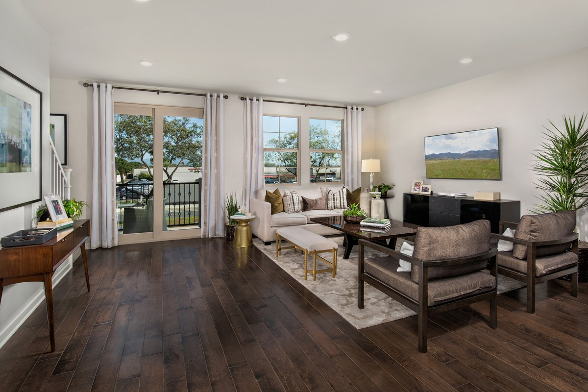 New Homes in Santa Ana, CA - Lotus Residence One Great Room