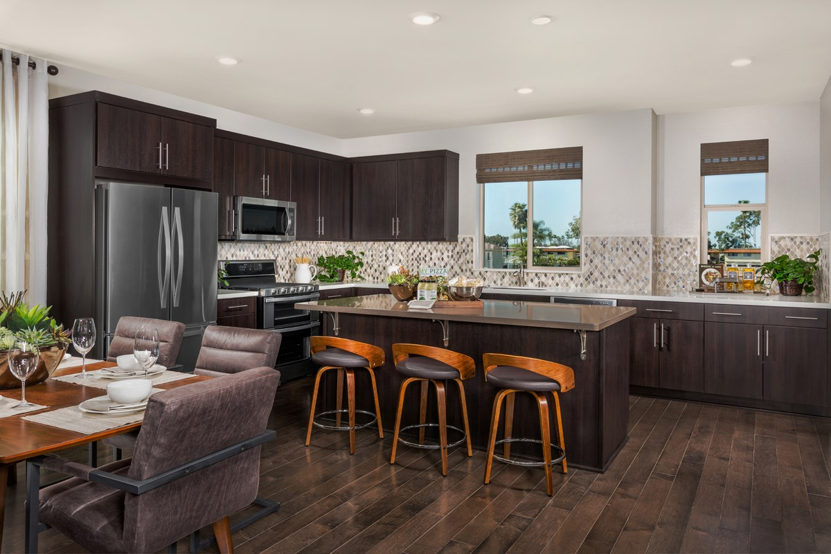 New Homes in Santa Ana, CA - Lotus Residence One Kitchen