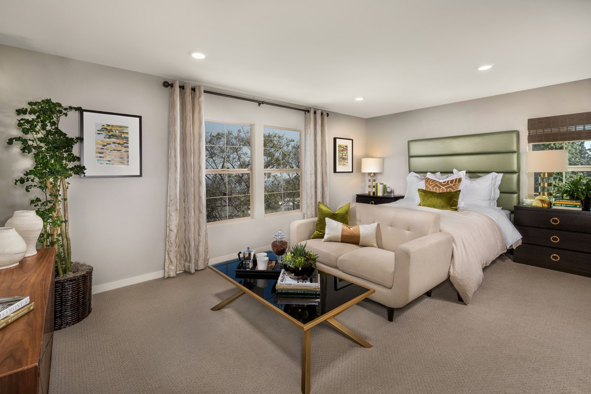 New Homes in Santa Ana, CA - Lotus Residence One Master Bedroom