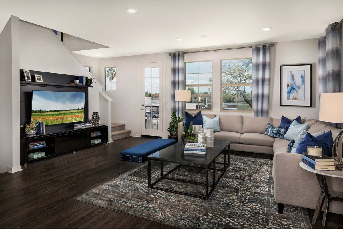 New Homes in Santa Ana, CA - Lotus Residence Two Great Room