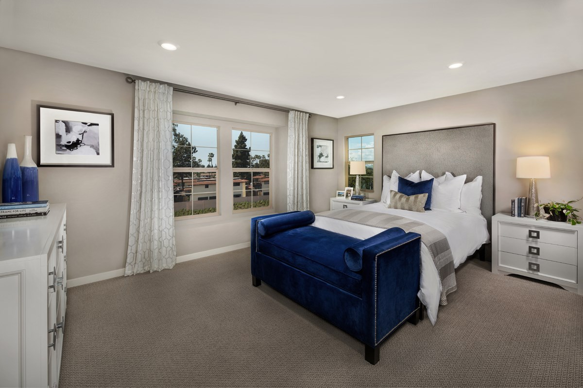 New Homes in Santa Ana, CA - Lotus Residence Two Master Bedroom