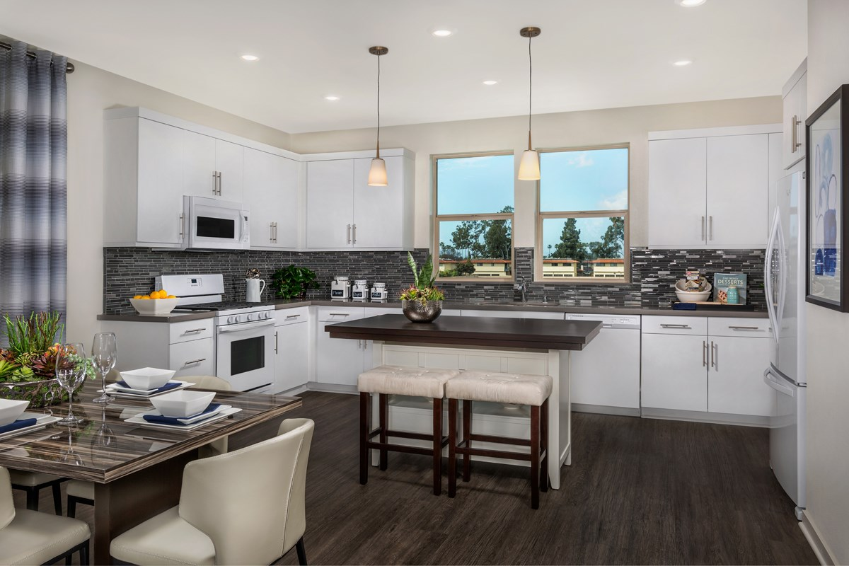 New Homes in Santa Ana, CA - Lotus Residence Two Kitchen