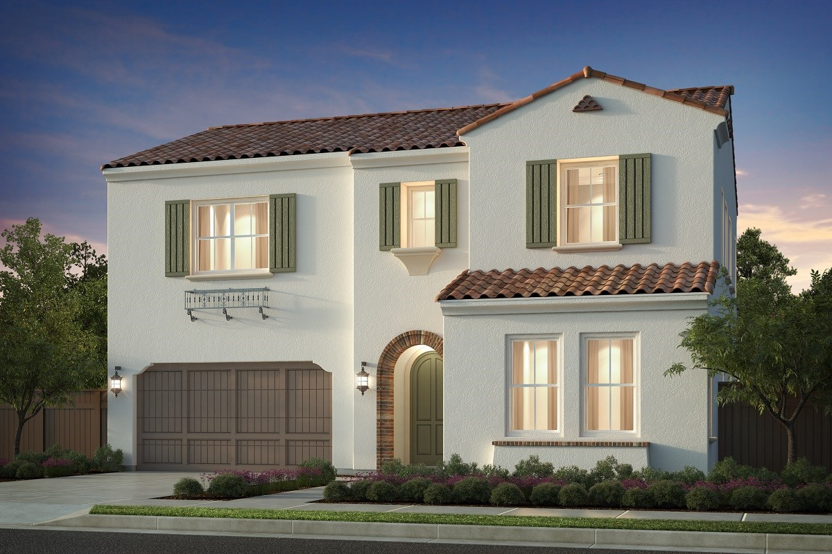 New Homes in Irvine, CA - Napa at Eastwood Village Residence One - Elevation A