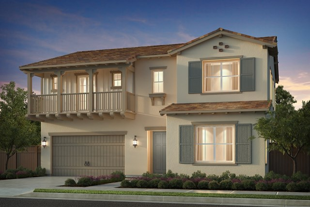 New Homes in Irvine, CA - Elevation E - Monterey