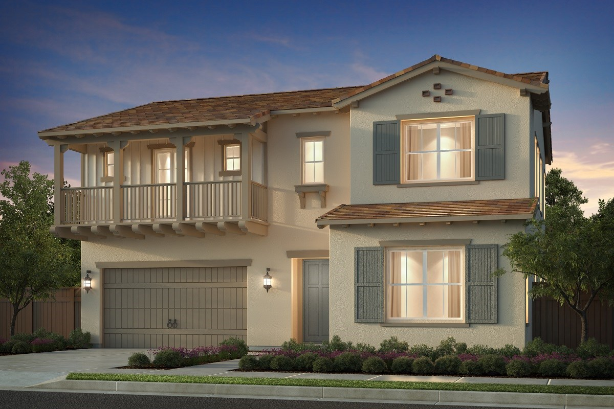 New Homes in Irvine, CA - Napa at Eastwood Village Residence One - Elevation E
