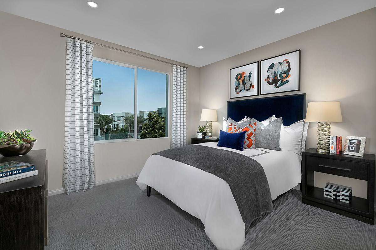 New Homes in Irvine, CA - Paseo Del Mar Residence 3 Master Bedroom