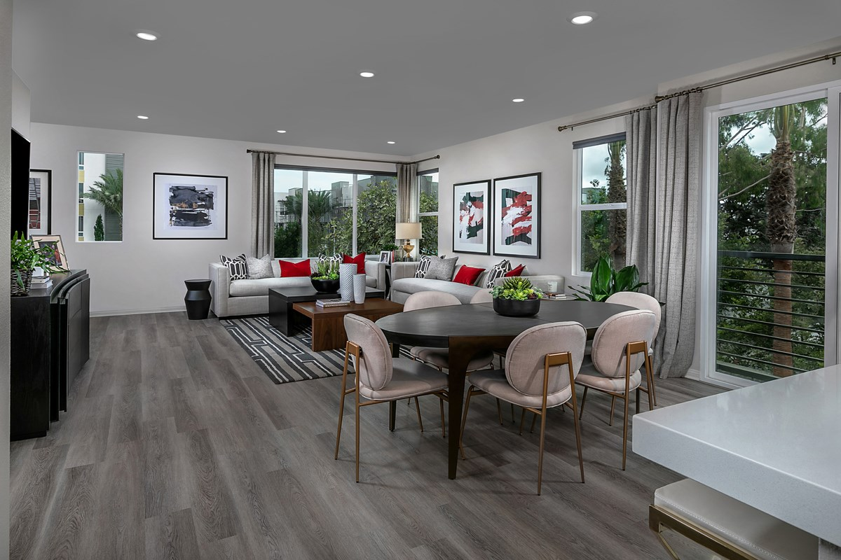 New Homes in Irvine, CA - Paseo Del Mar Residence 5 Dining Room