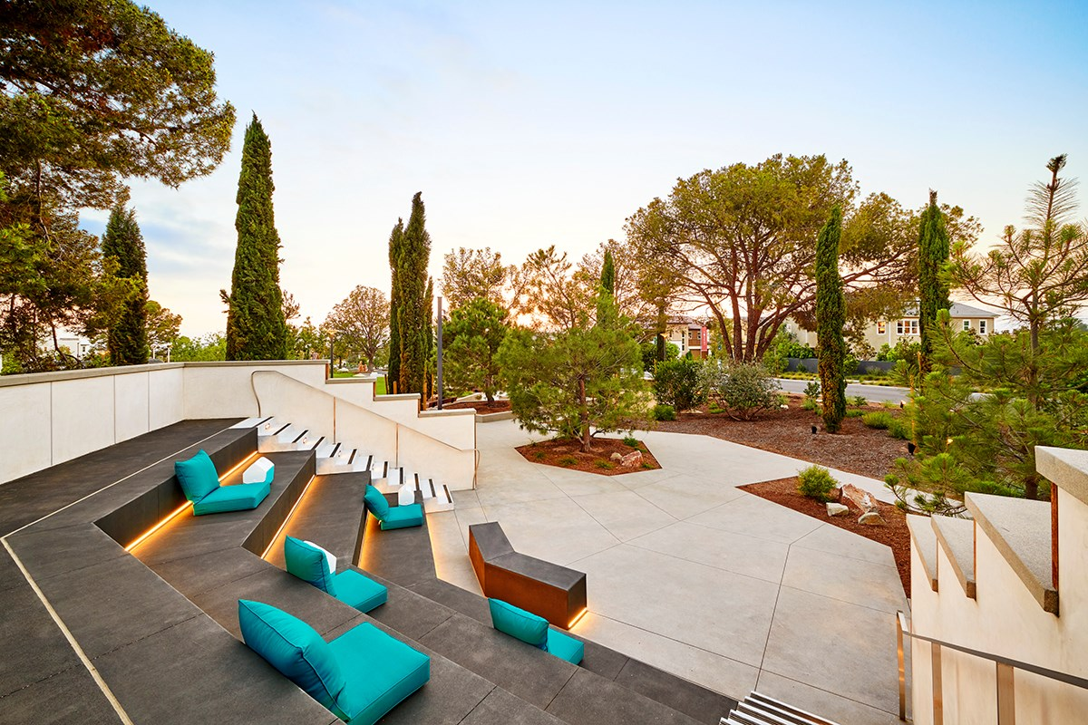 New Homes in Irvine, CA - Prado at Cadence Park Cadence Park Outdoor Ampitheater