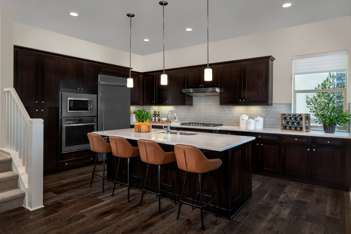 New Homes in Irvine, CA - Prado at Cadence Park Residence One - Kitchen