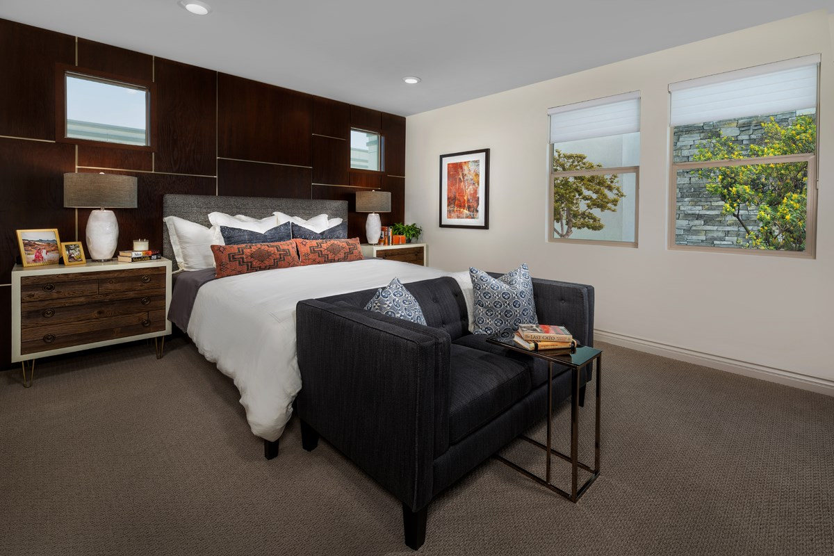 New Homes in Irvine, CA - Prado at Cadence Park Residence One - Master Bedroom
