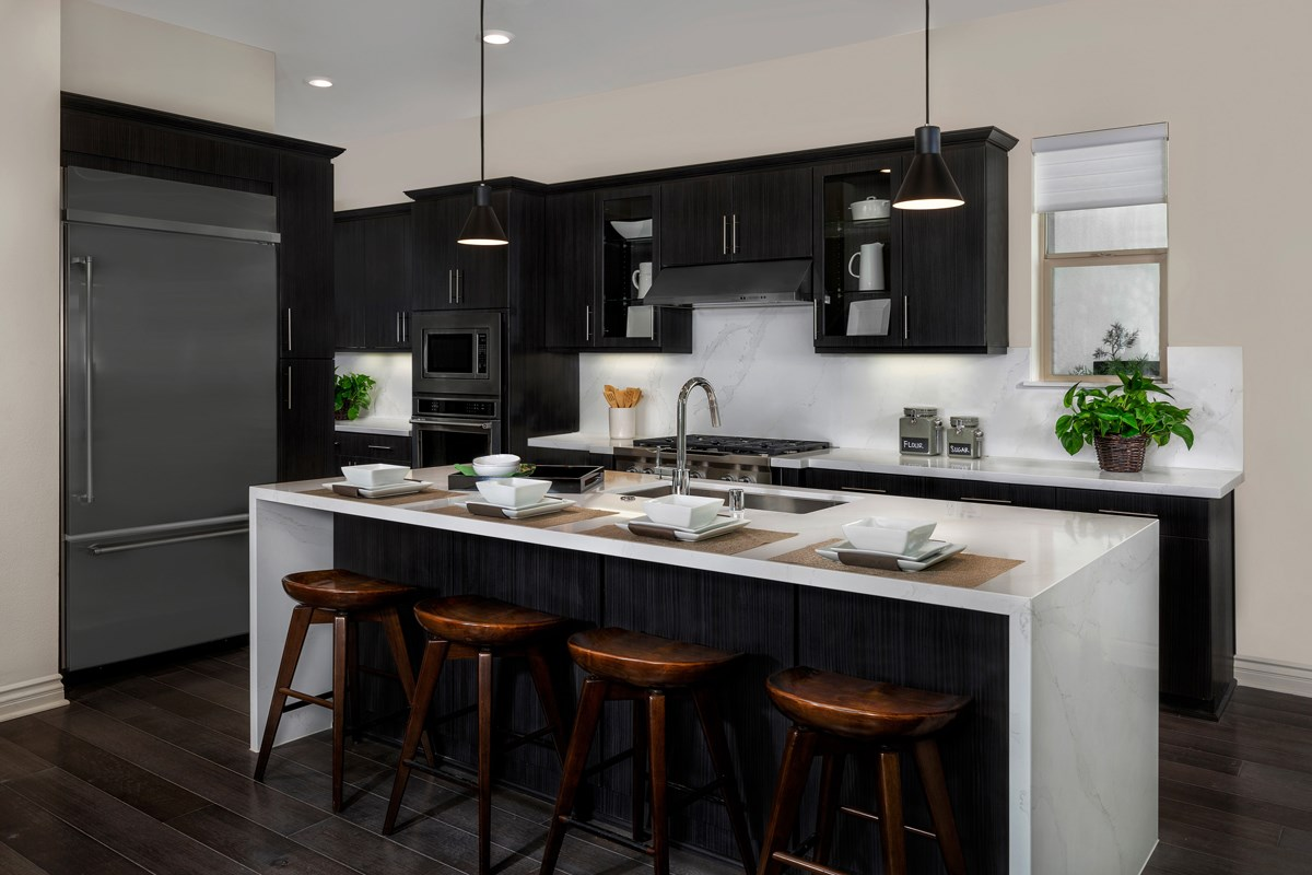 New Homes in Irvine, CA - Prado at Cadence Park Residence Two - Kitchen