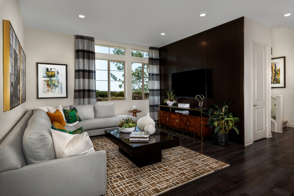 New Homes in Irvine, CA - Prado at Cadence Park Residence Two - Living Room