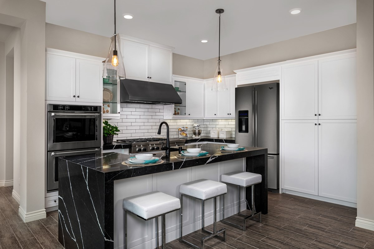 New Homes in Irvine, CA - Prado at Cadence Park Residence Three - Kitchen