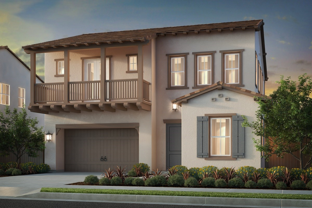 New Homes in Irvine, CA - Solano at Eastwood Village Plan 2799 - Elevation B