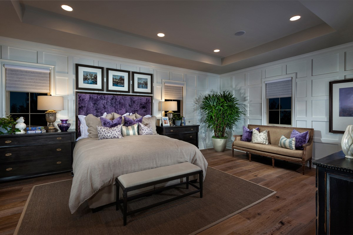 New Homes in Irvine, CA - Vicenza at Orchard Hills Residence One - Master Bedroom