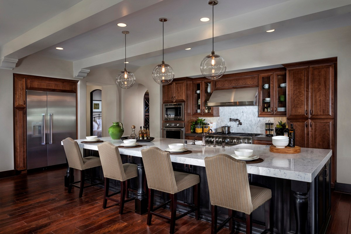 New Homes in Irvine, CA - Vicenza at Orchard Hills Residence Two - Kitchen