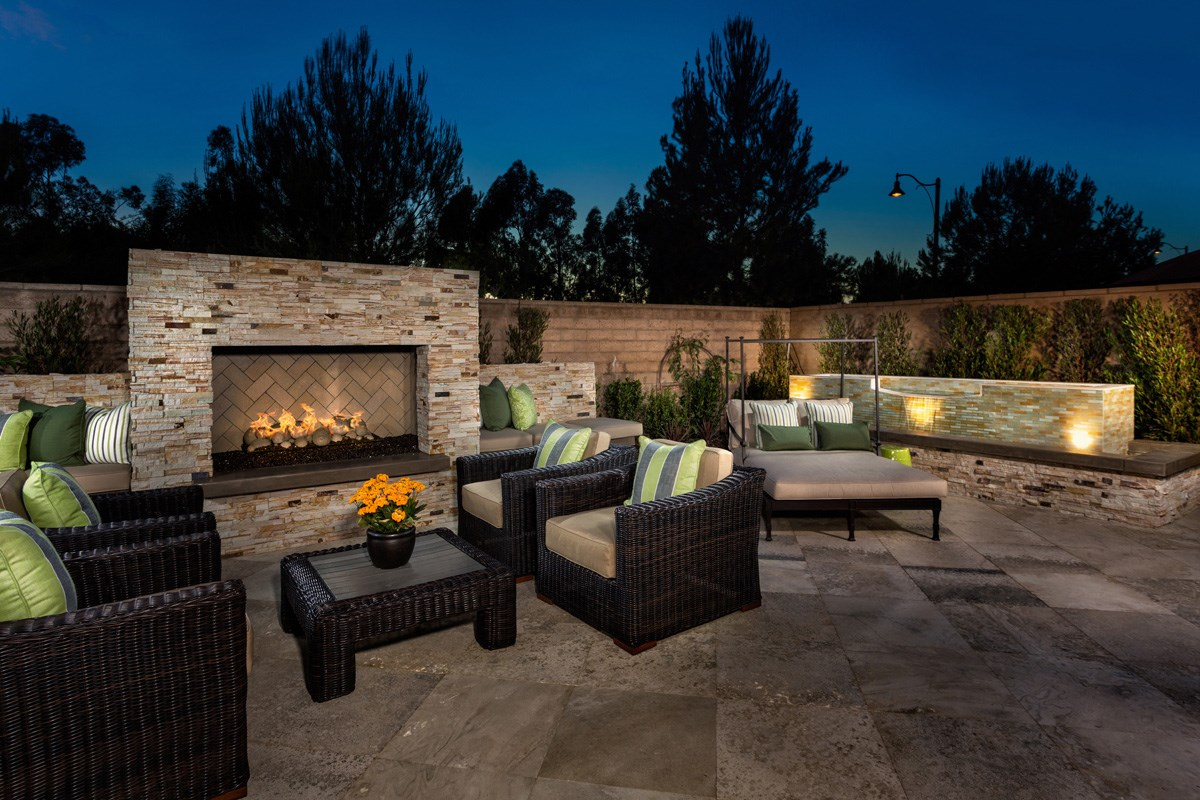 New Homes in Irvine, CA - Vicenza at Orchard Hills Residence Two - Patio