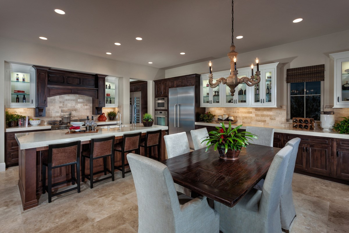 New Homes in Irvine, CA - Vicenza at Orchard Hills Residence Three - Kitchen