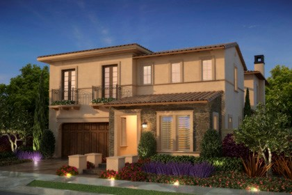 "New Homes in Irvine, CA - Tuscan ""C"""