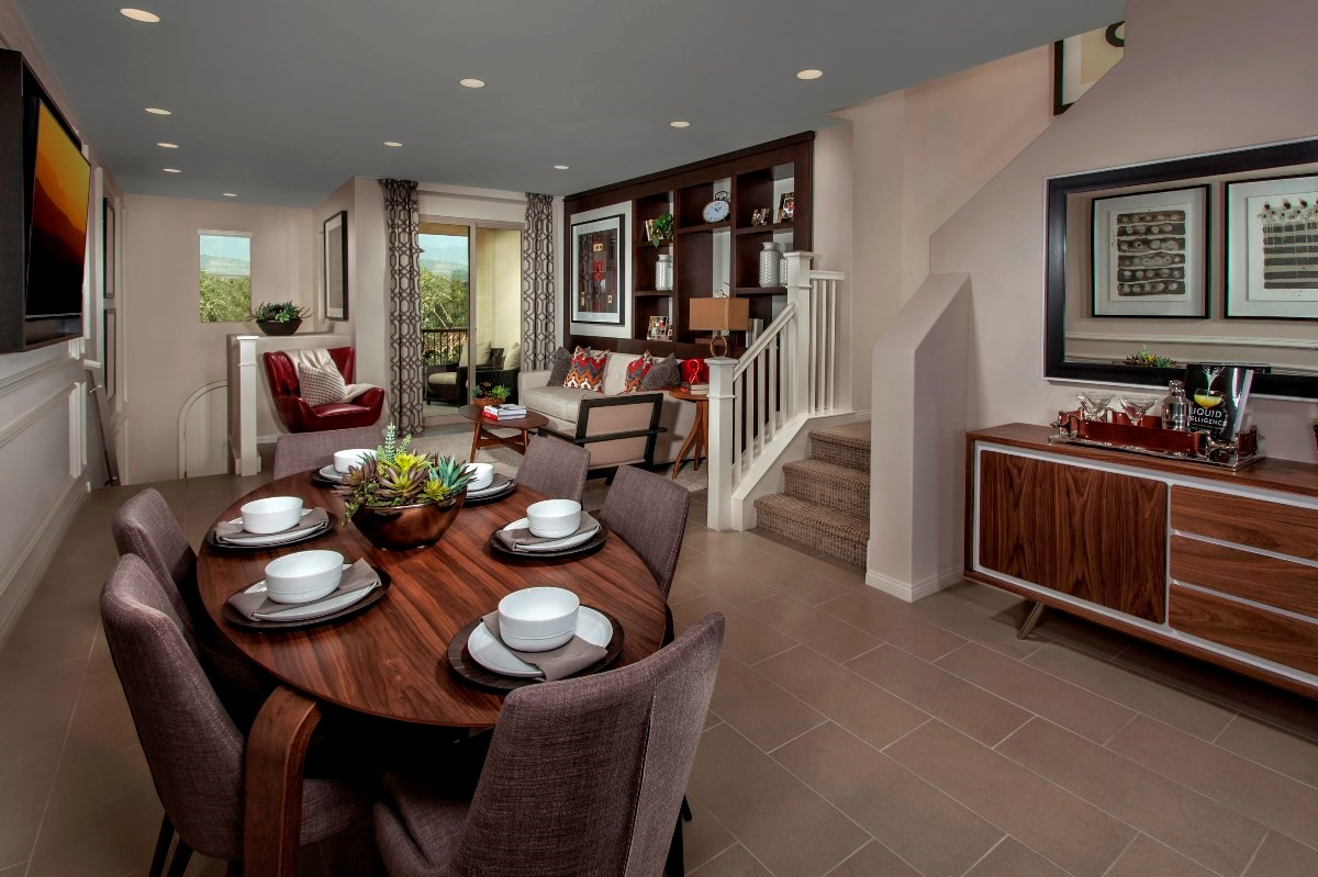 New Homes in Irvine, CA - Willow at Portola Springs Unit Two - Dining Room