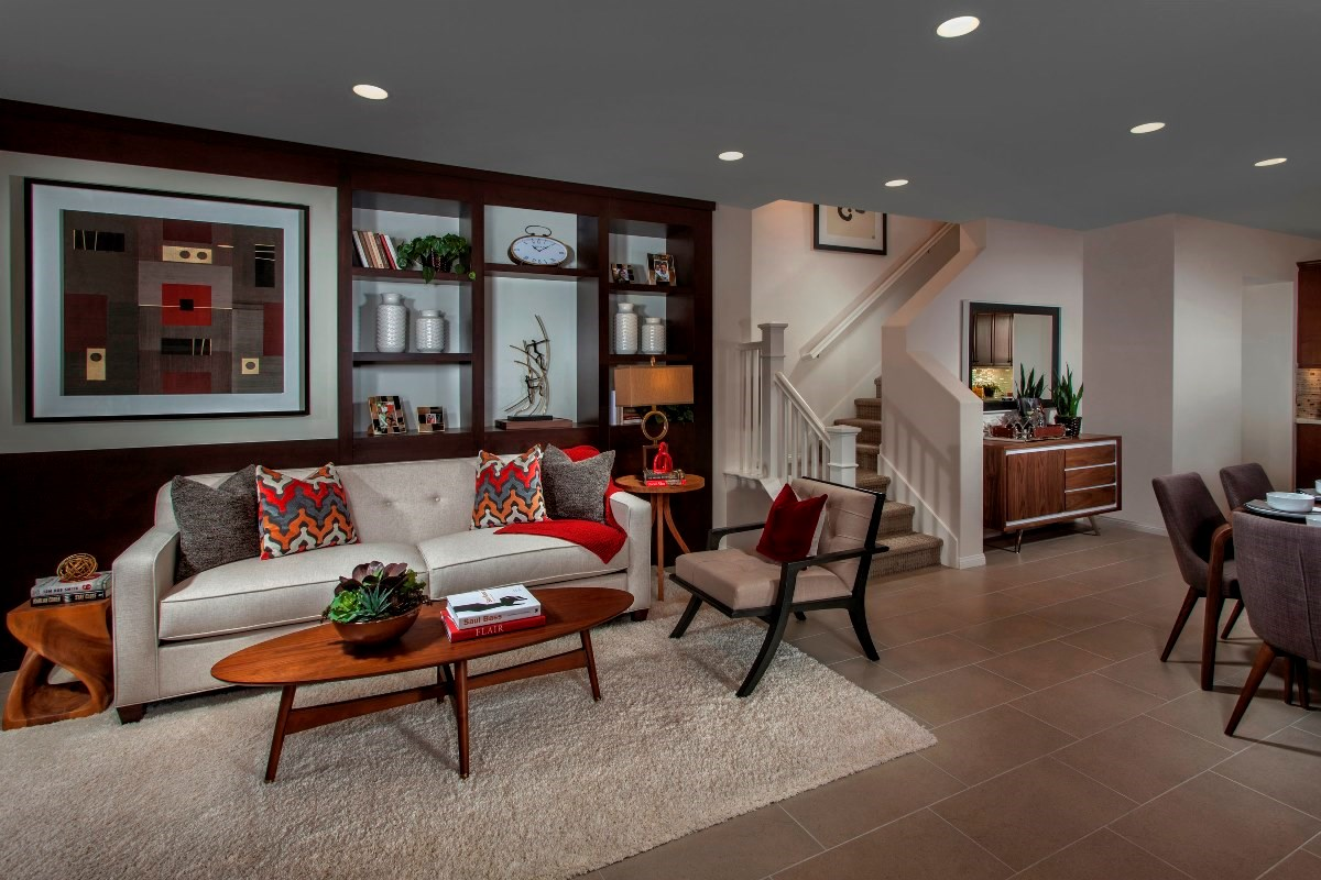 New Homes in Irvine, CA - Willow at Portola Springs Unit Two - Living Room