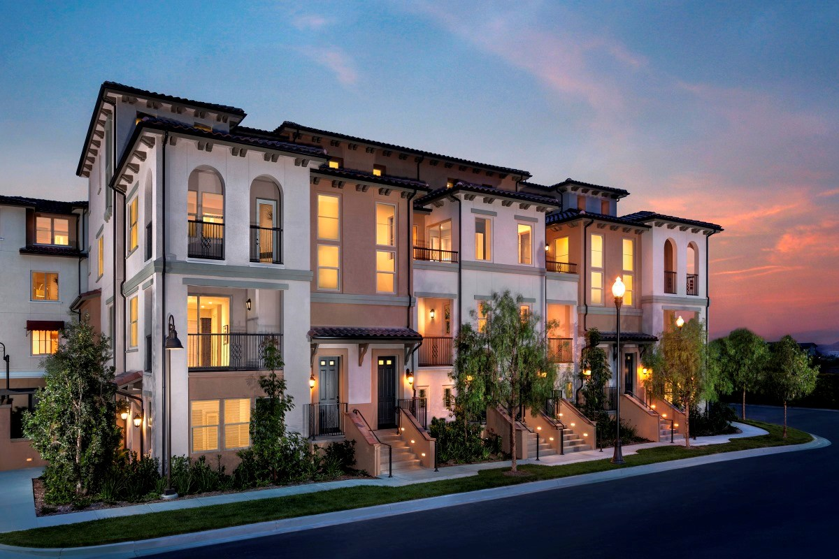 New Homes in Irvine, CA - Willow at Portola Springs Exterior Elevation