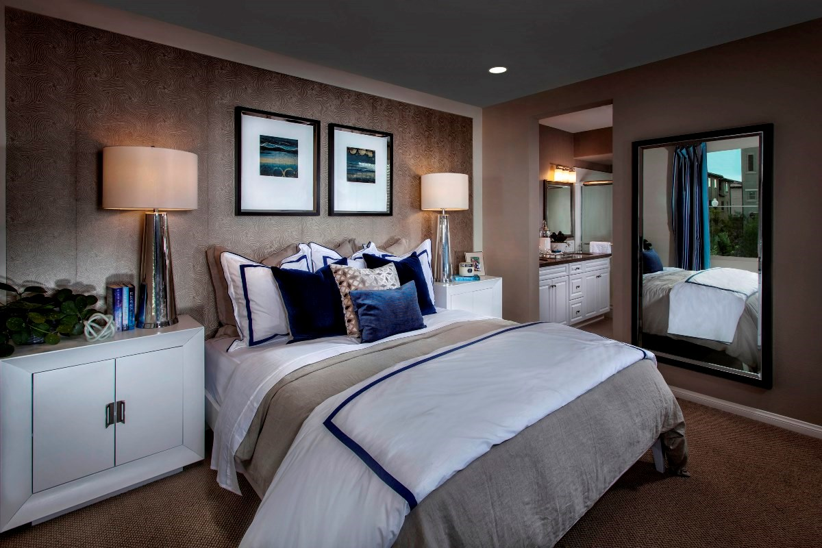 New Homes in Irvine, CA - Willow at Portola Springs Unit One - Master Bedroom