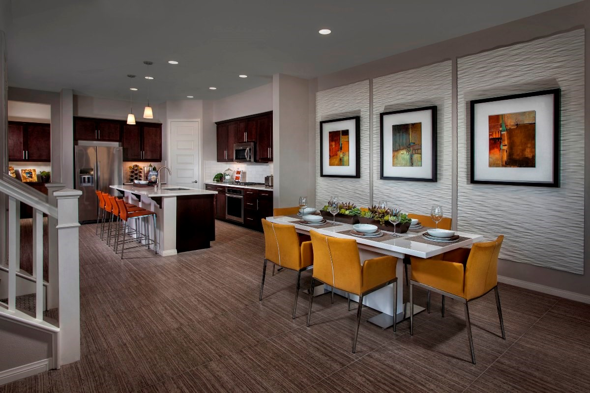 New Homes in Irvine, CA - Willow at Portola Springs Unit Four - Dining Room