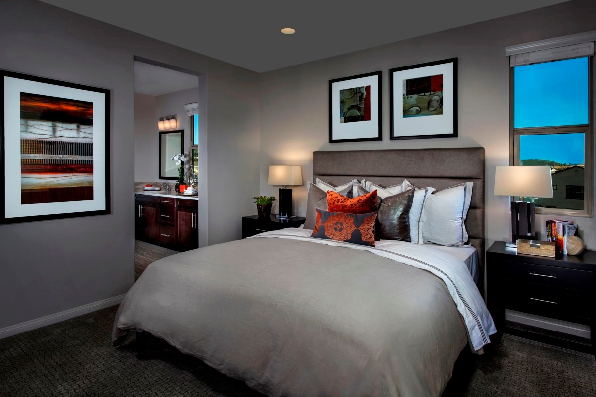 New Homes in Irvine, CA - Willow at Portola Springs Unit Four - Master Bedroom