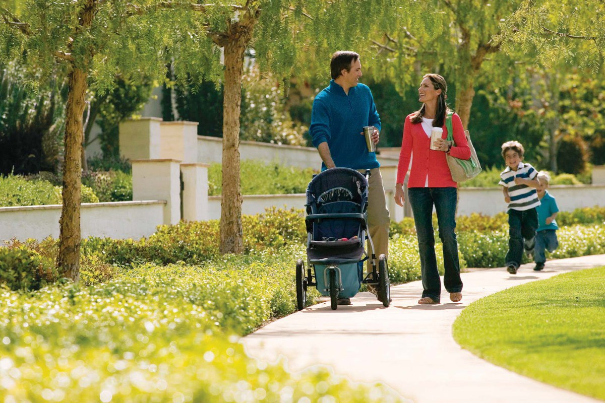 New Homes in Irvine, CA - Willow at Portola Springs Bicycle and Walking Trails