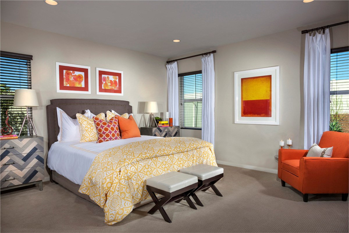 New Homes in Murrieta, CA - Acacia at Mahogany Hills Residence One Master Bedroom