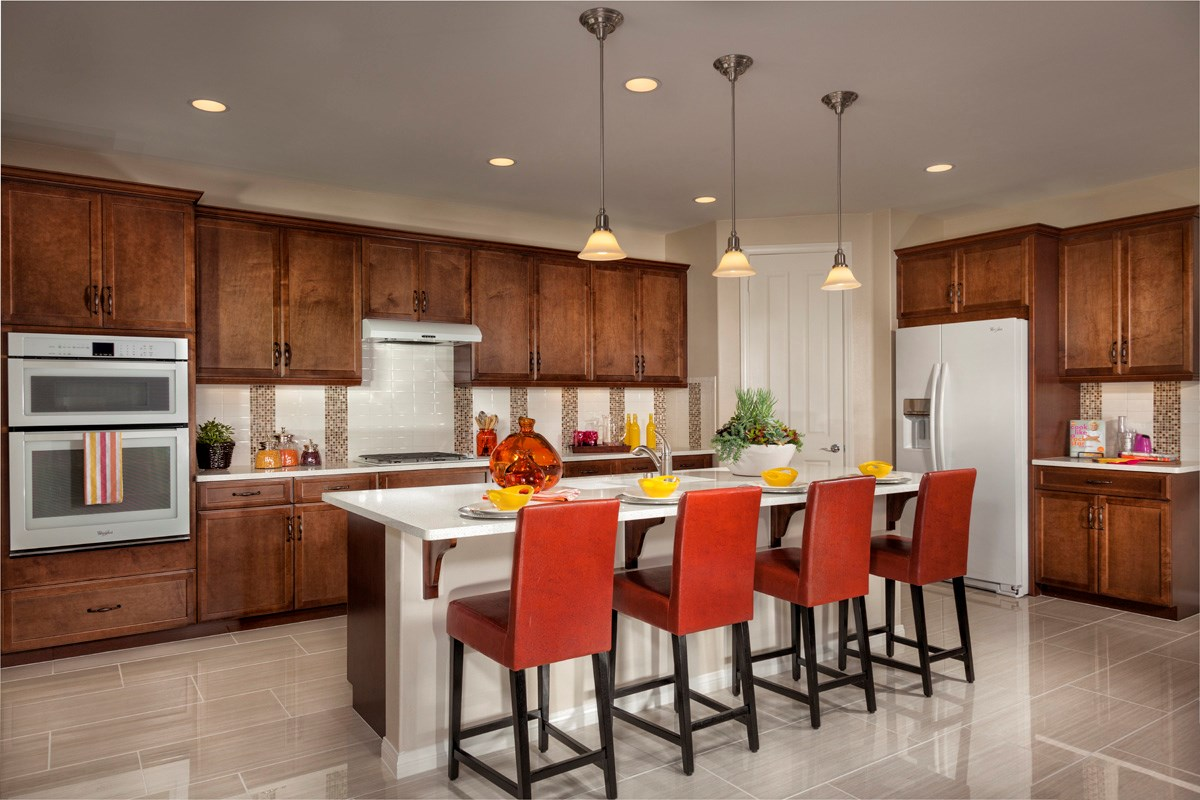 New Homes in Murrieta, CA - Acacia at Mahogany Hills Residence One Kitchen
