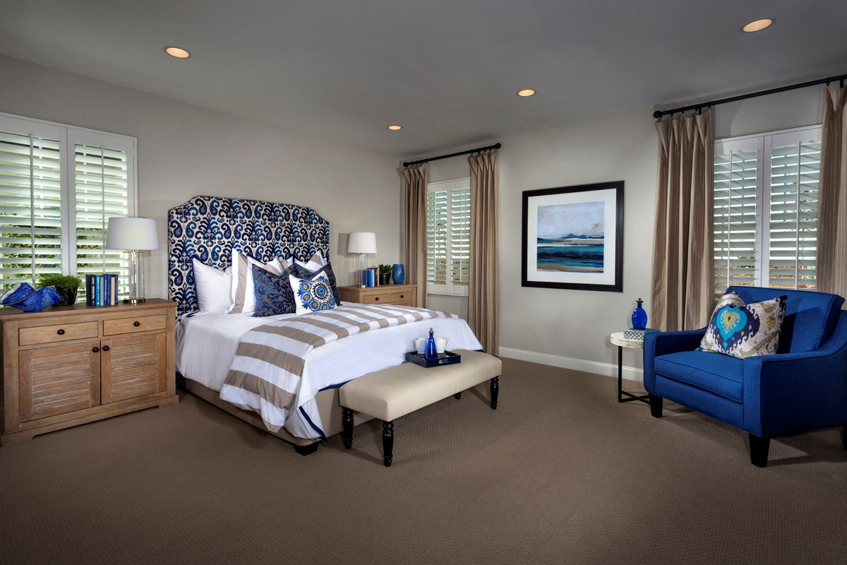 New Homes in Murrieta, CA - Acacia at Mahogany Hills Residence Two Master Bedroom