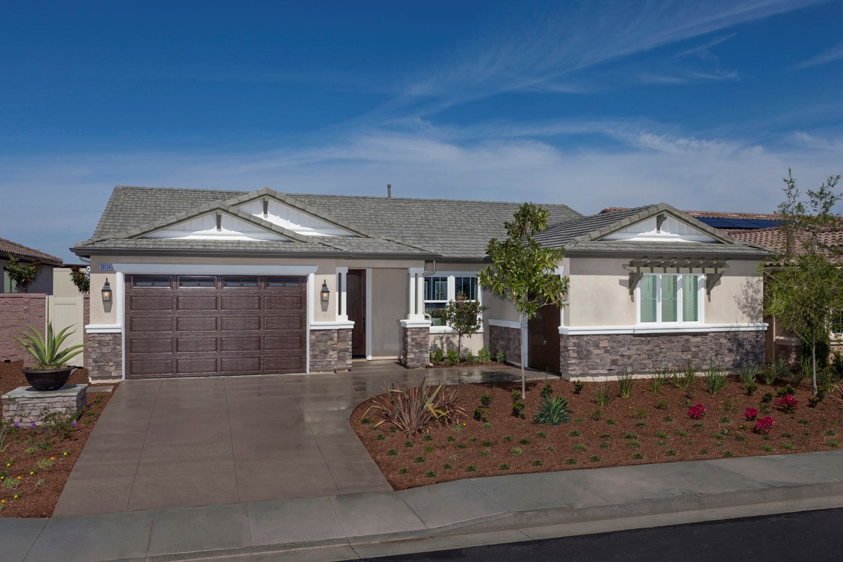 Large Kitchen Floor Plans New Homes For Sale In Murrieta Ca Acacia At Mohogany