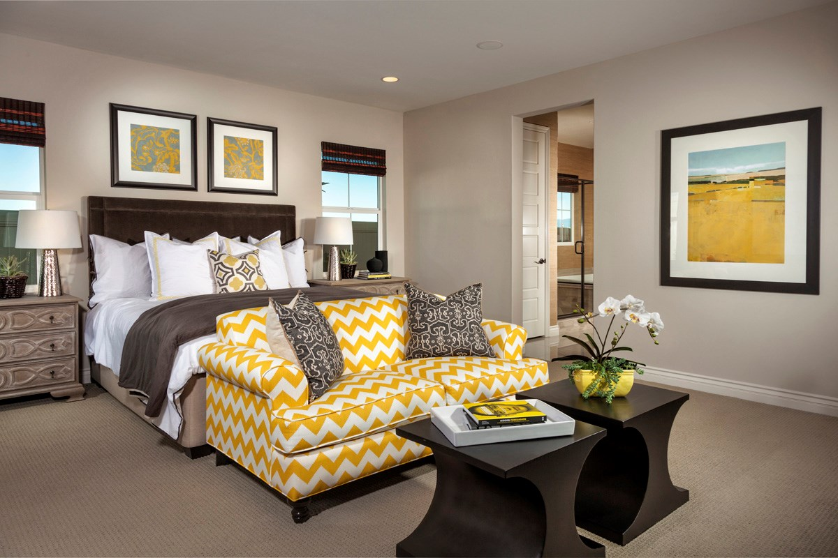 New Homes in Murrieta, CA - Acacia at Mahogany Hills Residence Three Master Bedroom