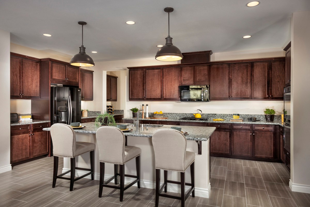 New Homes in Murrieta, CA - Acacia at Mahogany Hills Residence Three Kitchen