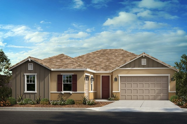 New Homes in Winchester , CA - Farmhouse 'B' 3-car garage