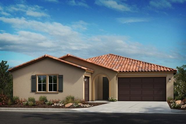New Homes in French Valley, CA - Spanish 'A' 3-car garage