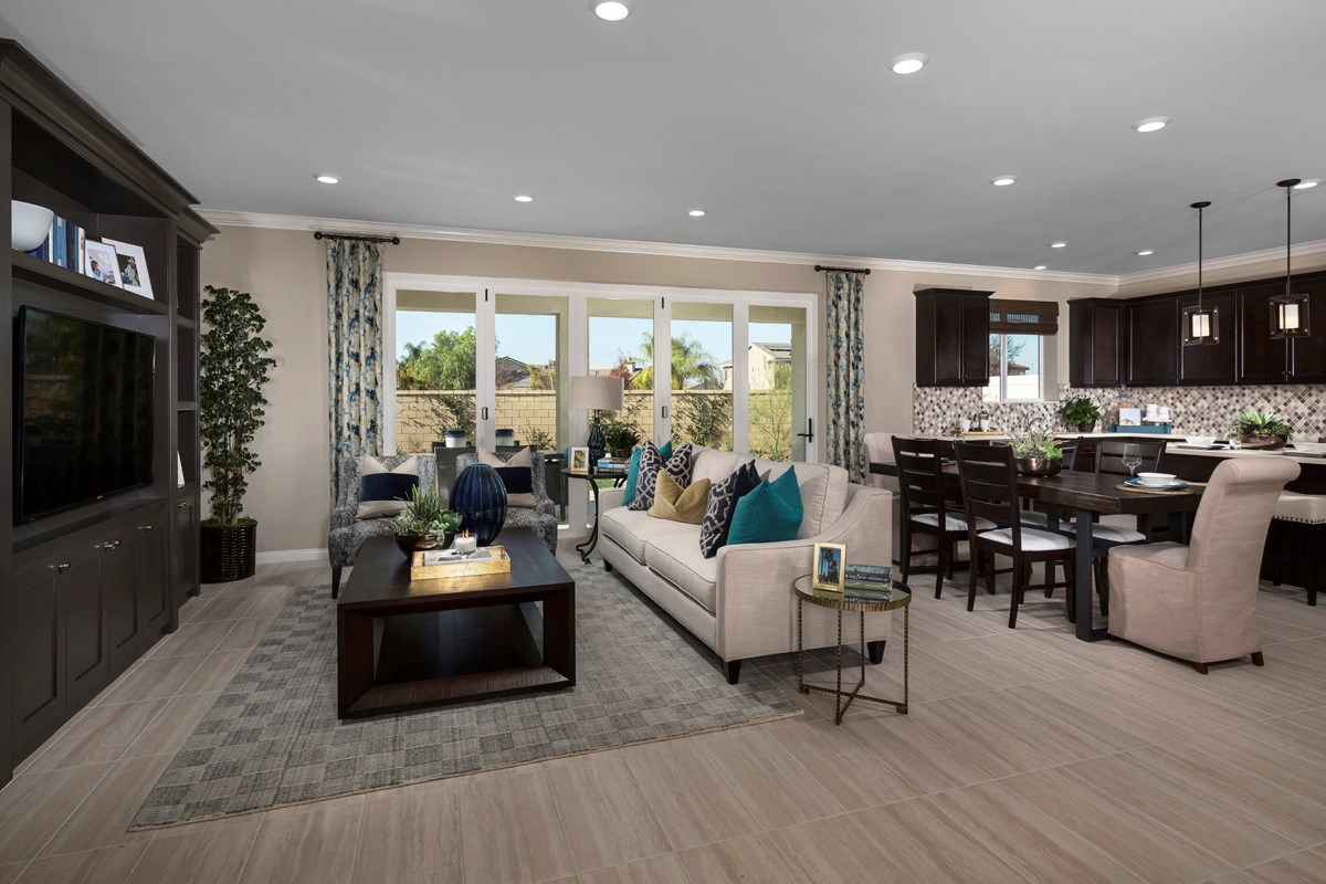 New Homes in French Valley, CA - Alure Residence One - Great Room