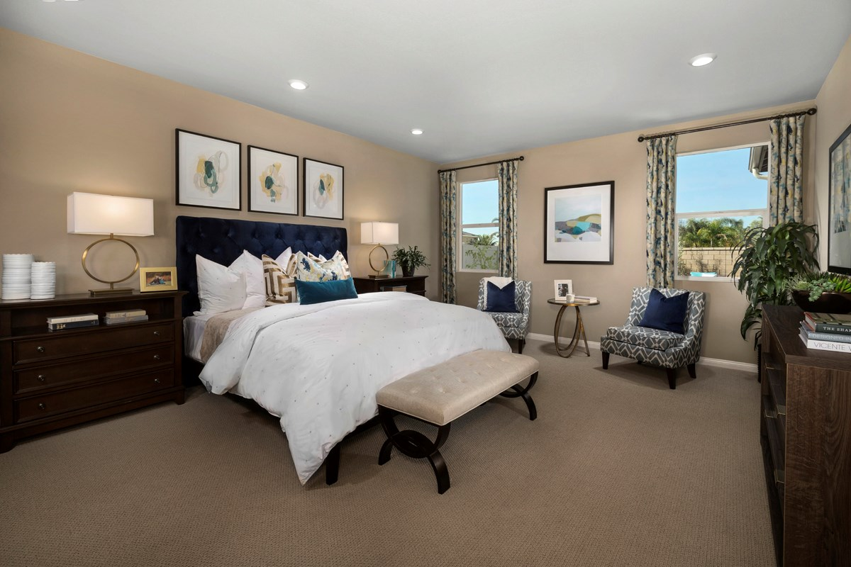 New Homes in French Valley, CA - Alure Residence One - Master Bedroom