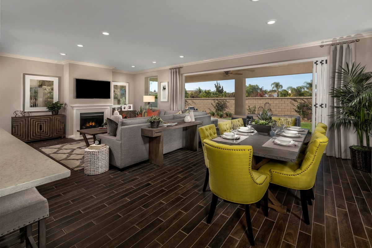 New Homes in French Valley, CA - Alure Residence Three - Great Room