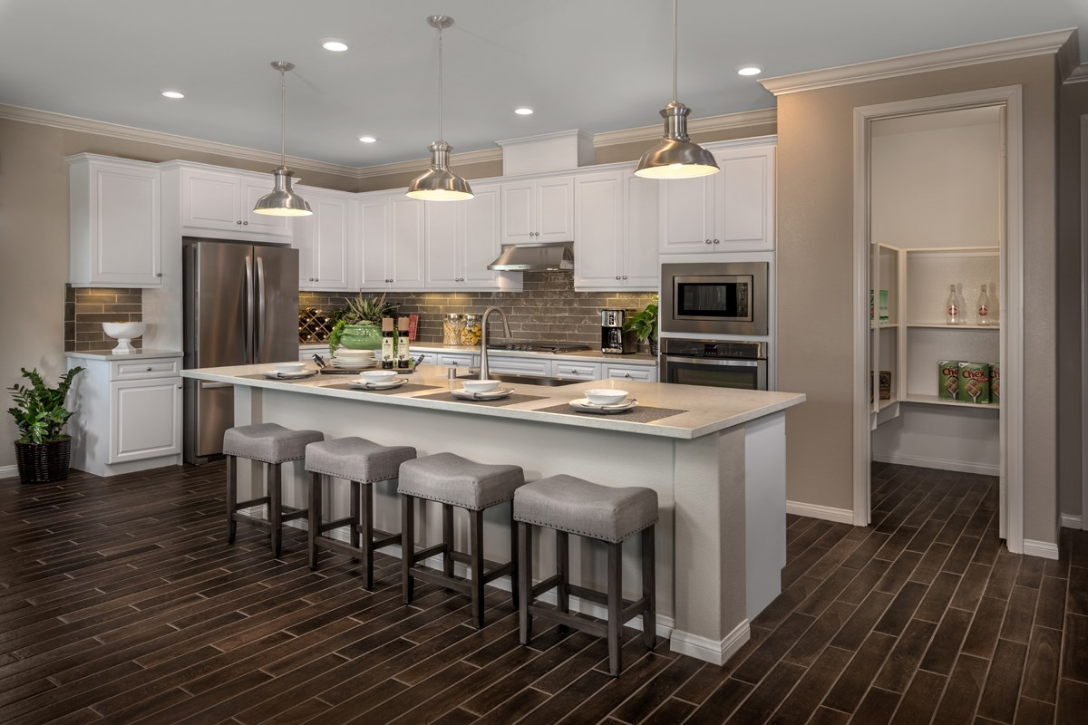 New Homes in French Valley, CA - Alure Residence Three - Kitchen