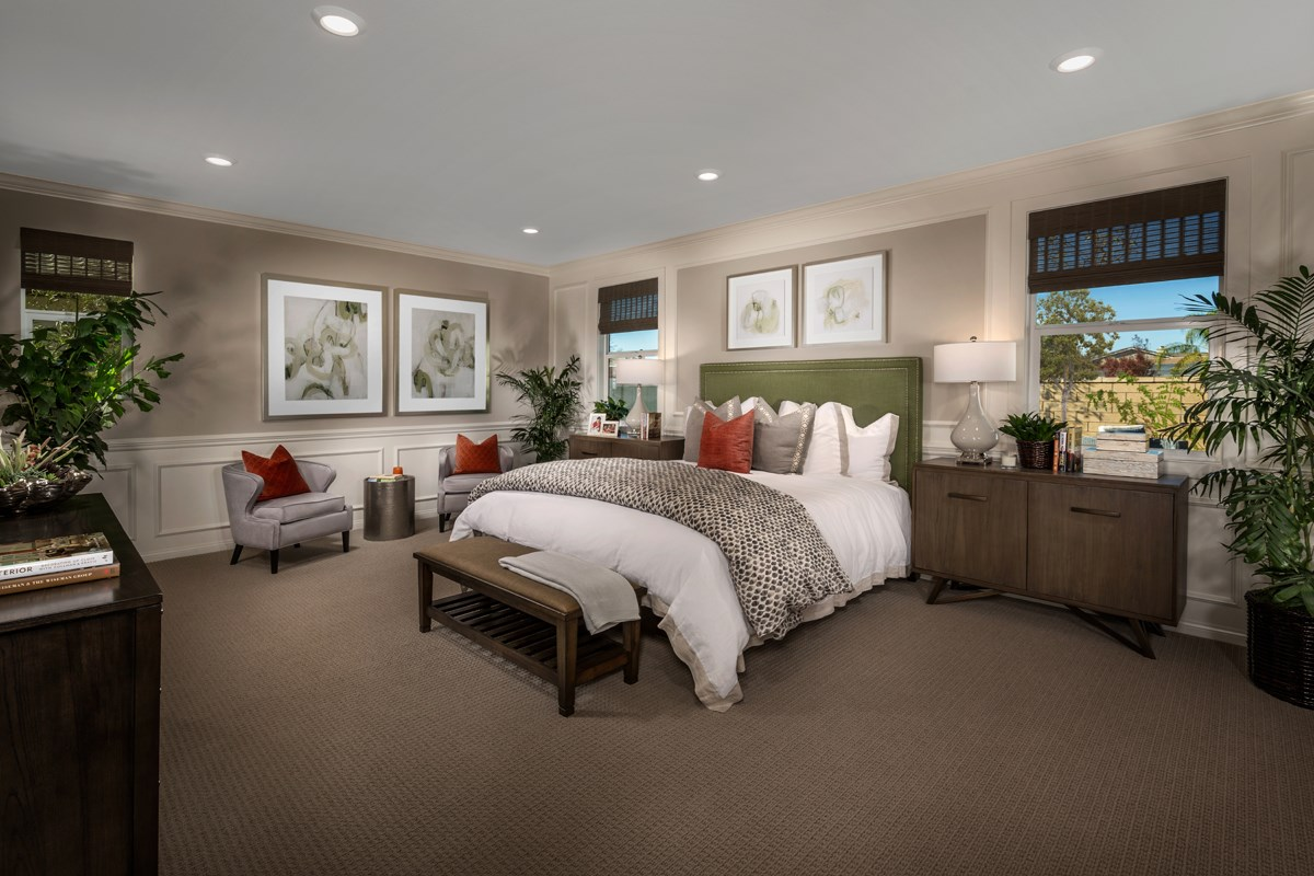 New Homes in French Valley, CA - Alure Residence Three - Master Bedroom