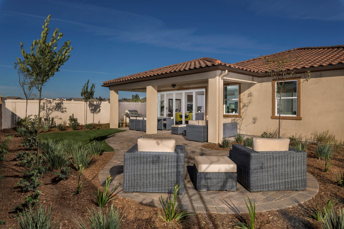 New Homes in French Valley, CA - Alure Residence Three - Patio