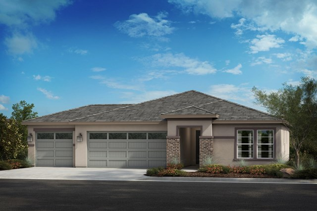 New Homes in Winchester, CA - Prairie 'C' 3-car garage