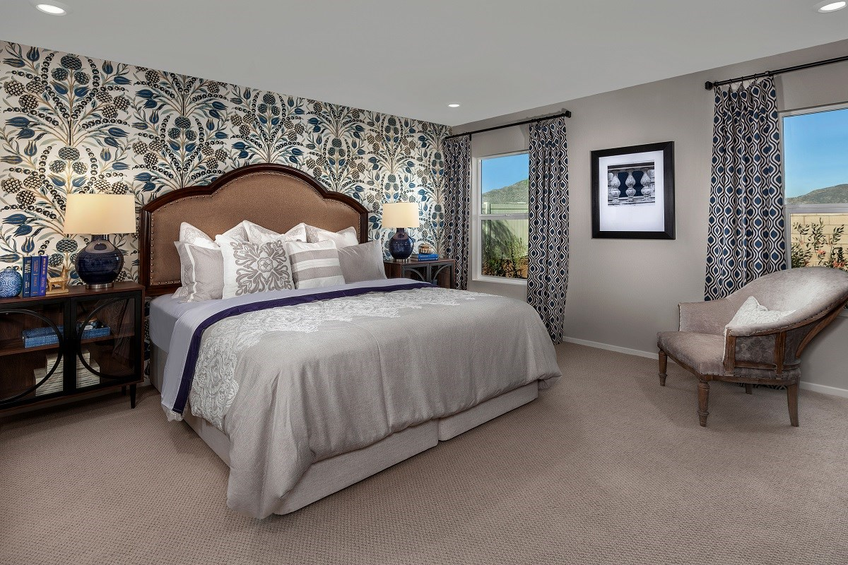 New Homes in Winchester, CA - Autumn Winds® Residence Two - Master Bedroom