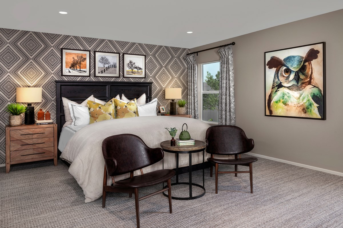 New Homes in Winchester, CA - Autumn Winds® Residence Four - Master Bedroom
