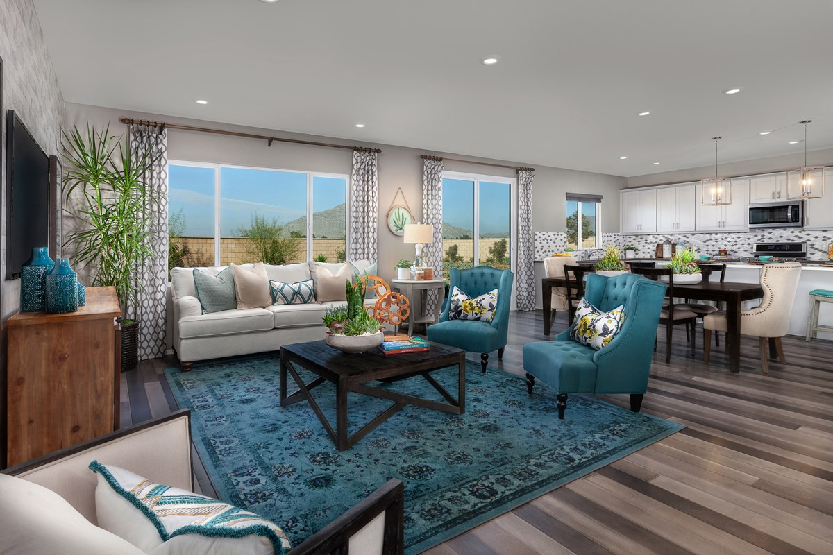 New Homes in Winchester, CA - Autumn Winds® Residence Five - Great Room