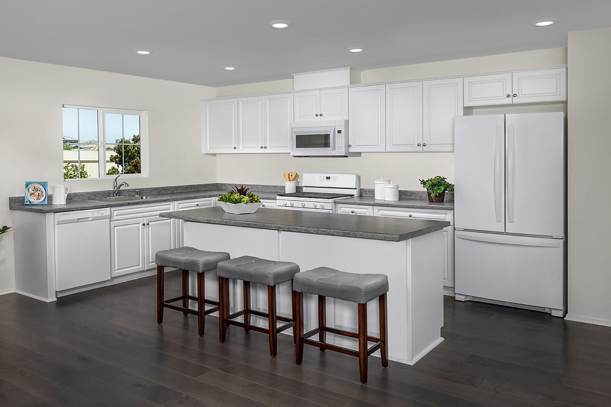 New Homes in Moreno Valley, CA - Bella Cortina Residence Seven - Kitchen
